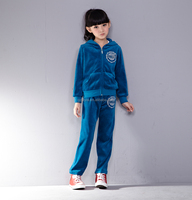 kids clothing branded girls' broadcloth clothes wholesale