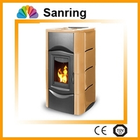 Cheap Low energy cost Fully-automatic Smokeless Wood burning stoves