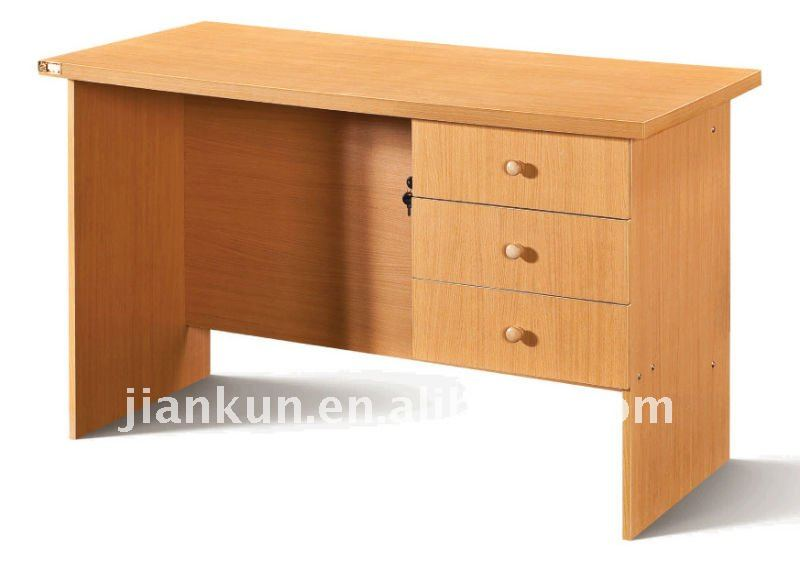 Madera oficina escritorio de la computadora pvc muebles for Escritorios de madera para oficina