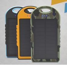 Hot selling 10000mah power bank solar power bank for mobile phones