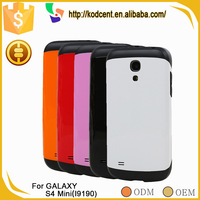 Professional supplier shockproof cute armor hard case for samsung galaxy s4 mini