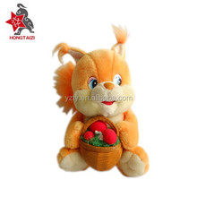 Manufacturer high quality stuffed squirrels with best price