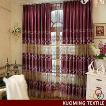 Top quality unique pinch pleated sheer curtain drapery