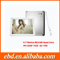 Factory Promotional Android tablet digitizer with RK3188 Quad Core 4.4 OS Tablet pc