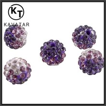 elegant purple rhinestone beads / wholesale beads / bead treasures