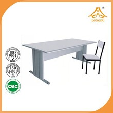 Best quality standard size school table and chair used school furniture for sale