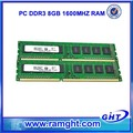 8bits escritorio PC3-12800 1600mhz Garantía de por vida 8 GB de RAM