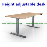 two or three legs Electric height adjustable office desk for sitting and standing LC30A