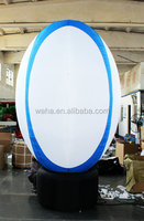 2015 waha customized inflatable rugby goal post
