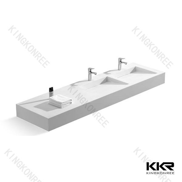 Kkr Oem Double Bathroom Sink Countertop,Molded Sink Countertop