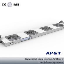 Esd antiestático eliminación ionizador AP-DJ2104 industrial cuatro ventilador de arriba antiestático ionizante soplador de aire