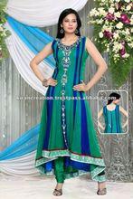 Designer Long net salwar kameez