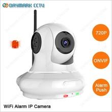 Pan Tilt HD 720p P2P WiFi IP Camera Home Alarm System