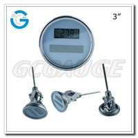 High quality solar digital high precision thermometer