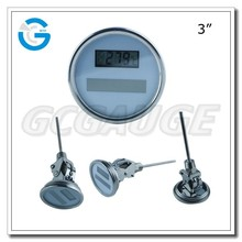 High quality solar digital high precision thermometer