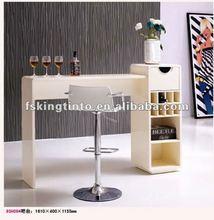 Modern white bar table(9SH09#)