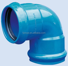 High Quality PVC 90 Degree Elbow With Rubber Ring Water Supply Pipe Fitting