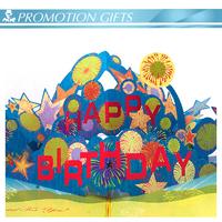 Promotionb custom birthday music 3D card voice recording card