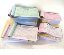 OEM bill copy book printing, rent receipt book printing