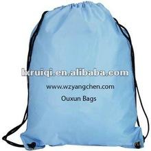 2012 portable plain drawstring bag