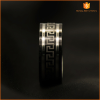 fashion and latest and high quality stainless steel engagement ring for man