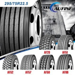 Aufine truck tire 295 75r22.5 with DOT
