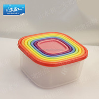 colorful plastic food container set plastic container manufacturer