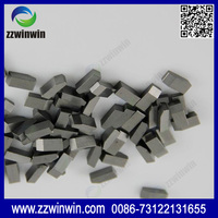 China yg6 tungsten carbide saw tips for cutting metal tools