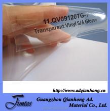 120gsm 90micron pvc glossy inkjet clear uv printing vinyl