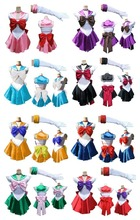 Sailor Moon Mars Costume Cosplay Fancy Dress Up Sailormoon All colors