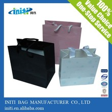 2015 new Quality fashion customized silk gift paper bag for gift