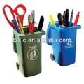 mini lixo plástico pode lápis conjunto titular organizador de mesa