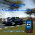 Los vehículos de gasolina 12v, VW, BMW, GM, MEWRCEDES BENZ, NISSAN, Reposición del servicio, Fcar F3S-W diagnósis de coches