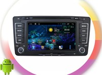 android 4.4 dvd head unit For Skoda Octavia RDS ,GPS,WIFI,3G,