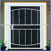 Hot selling custom wrought iron door with low price