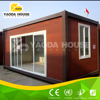 Container prefab house used as dormitories for workers