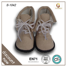 brown boot 18 inch cute doll shoes