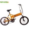 TOP E-cycle electric bicycle foldable with hidden battery
