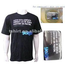 Brand promotion black Compressed t-shirt