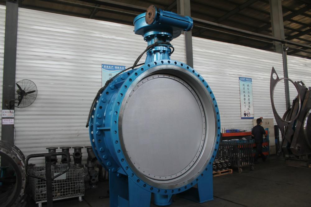 Электрический приводом металл загерметизированная фланец клапан