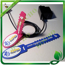 Rubber strap for keep cord