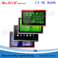 Hot selling 7 inch Allwinner A13 1.2GHz Q88 mini android all in one pc