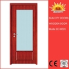 Low price new window design wooden door SC-W020