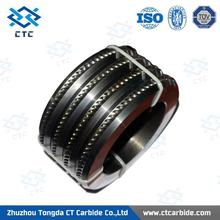 Brand new pr6.0 125x82x15mm tungsten carbide rolls for forming smooth steel wires exported to oversea