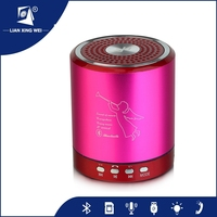Best price music mini computer led bluetooth speaker with Fm Radion