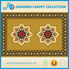 rug with logo / two star show printed mat