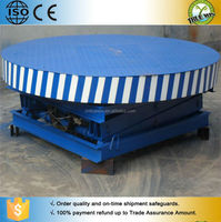 Industrial Design 6m hydraulic rotary stage / round electric motorized display table