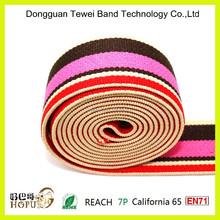 custom print jacquard elastic webbing