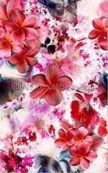 2015 hot sale fabric New Style Digital Print Cotton Poplin Fabric Woman Garment