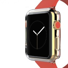 New arrival soft tpu case for i watch apple, for apple watch case covers